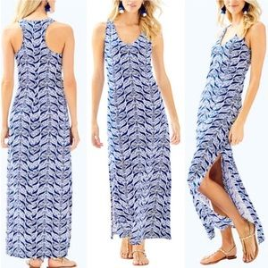 {Lilly Pulitzer} A Mermaids Tail Kerri Maxi Dress